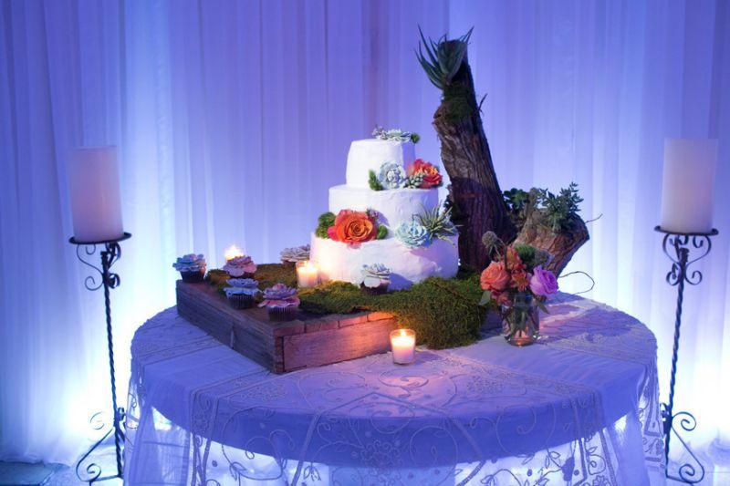 South Padre Island Wedding Cake