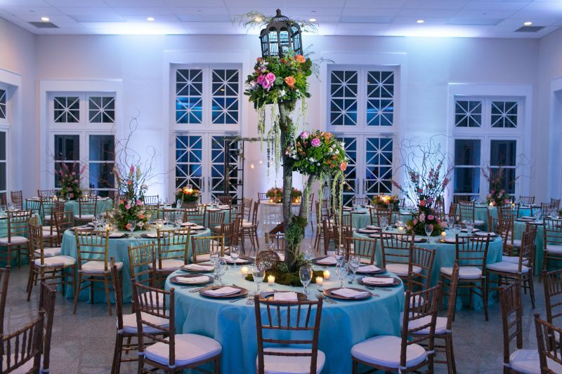 Wedding Reception Decor NAMAR South Padre