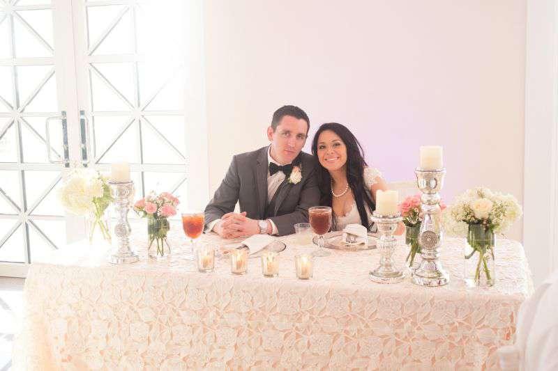 Bride and Groom at NAMAR South Padre