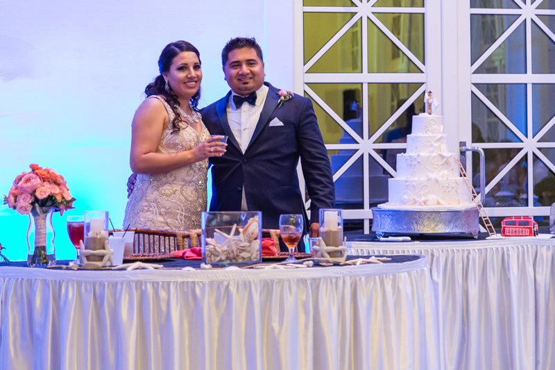 Ceremony and Reception at NAMAR Event Center